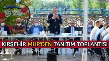 MHP İL TEŞKİLATI TANITIM TOPLANTISINDA BULUŞTU