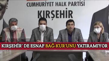 CHP'Lİ İLHAN, KIRŞEHİR'Lİ ESNAF BİR BİR KEPENK KAPATIYOR