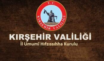 VALİ İBRAHİM AKIN'DAN FLASH PANDEMİ KARARLARI