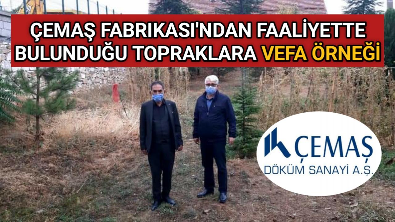 ÇEMAŞ FABRİKASI'NDAN ÖZBAĞ'A TAZİYE EVİ VE KURAN KURSU