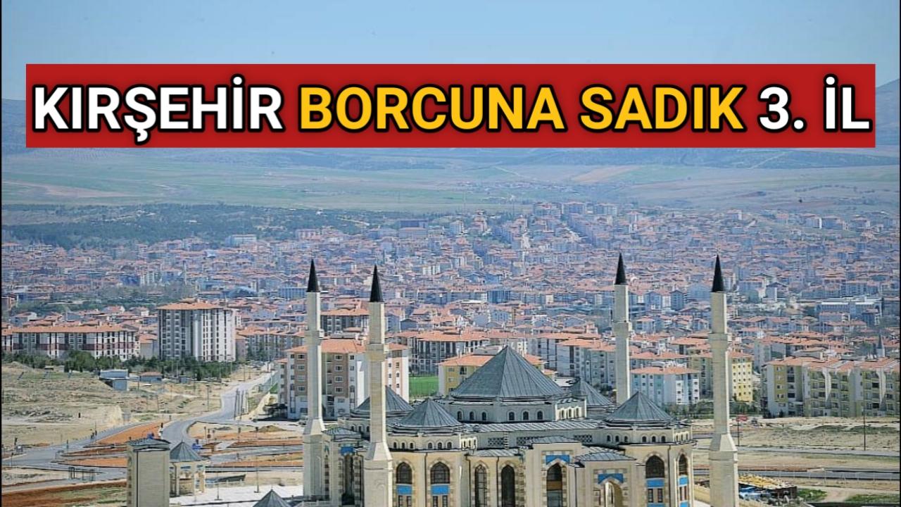 KIRŞEHİR BORCUNA SADIK İLLER ARASINDA 3. SIRADA