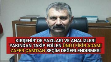 """FİKİR ADAMI ZAFER ÇAM YAZDI """"FAKİR GELDİ ZENGİN GİTTİLER"""""""