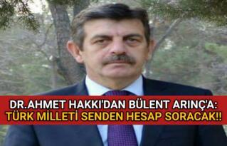 KIRŞEHİR'İN YİĞİT EVLADI DR. AHMET HAKKI: TÜRK MİLLETİ HESABINI SORACAK!!