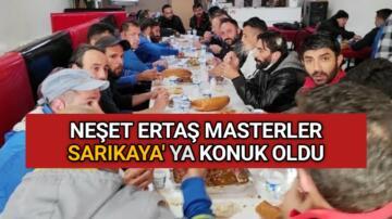 KIRŞEHİR MASTERLER SARIKAYA' YA KONUK OLDU