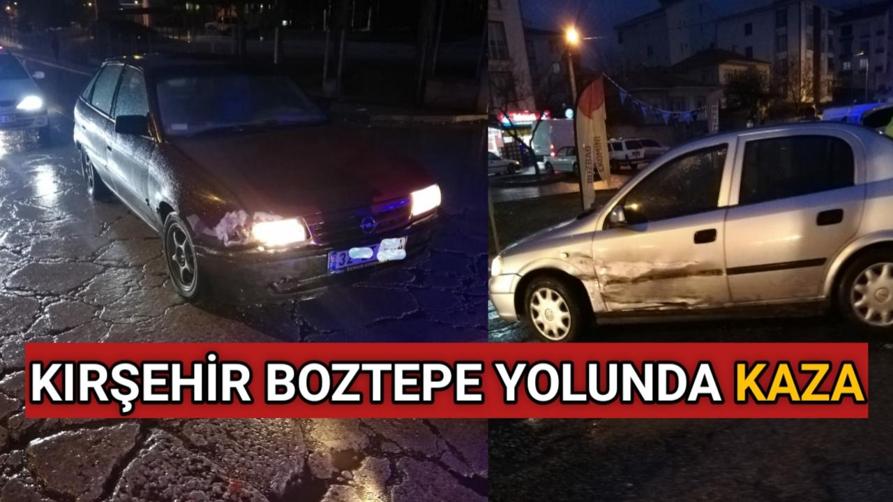 BOZTEPE YOLUNDA TRAFİK KAZASI