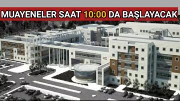 HASTANE' DE MUAYENE SAATLERİ DEĞİŞTİ