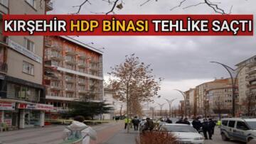 HDP BİNASINDAN DÜŞEN CAM FACİAYA NEDEN OLUYORDU