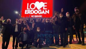 "KIRŞEHİR AK PARTİ'DEN "" LOVE ERDOĞAN "" KAMPANYASI"