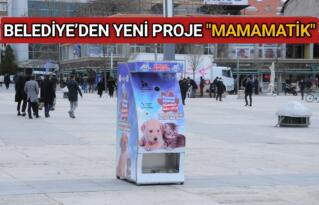 """KIRŞEHİR BELEDİYESİ'NDEN """"MAMAMATİK"""" PROJESİ"""