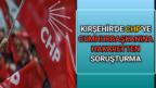 CHP'YE CUMHURBAŞKANINA HAKARETTEN SORUŞTURMA