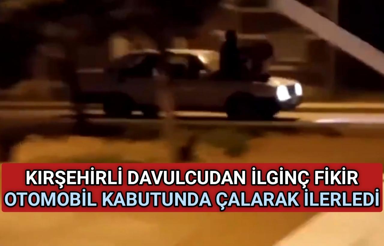 OTOMOBİL KABUTU ÜZERİNDE RAMAZAN DAVULCUSU