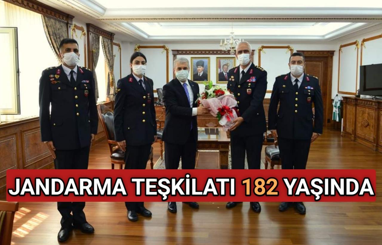 JANDARMA TEŞKİLATI 182 YAŞINDA