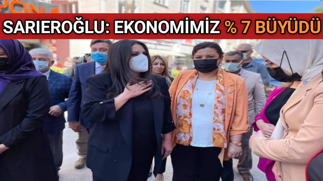 AK PARTİ GENEL BAŞKAN YARDIMCISI SARIEROĞLU KIRŞEHİR'DE