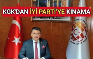 KGK'DAN İYİ PARTİ'YE KINAMA