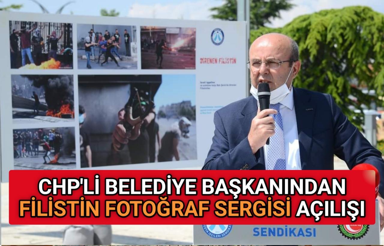 KIRŞEHİR'DE ' DİREN FİLİSTİN FOTOĞRAF SERGİSİ ' AÇILDI