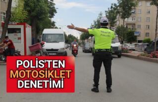KIRŞEHİR EMNİYETİ'NDEN MOTOSİKLET DENETİMİ