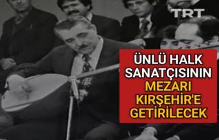 KIRŞEHİR'Lİ SANATÇININ MEMLEKET HASRETİ SON BULUYOR