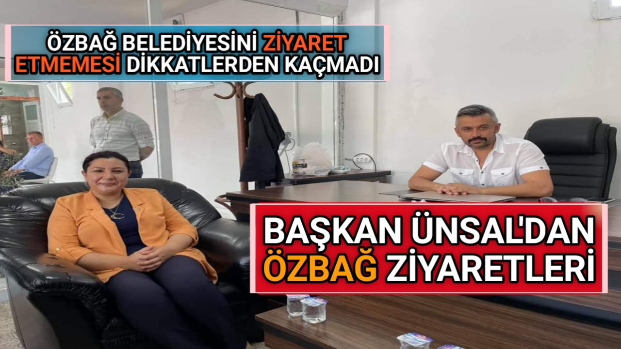 AK PARTİ İL BAŞKANI ÜNSAL'DAN ÖZBAĞ ZİYARETİ