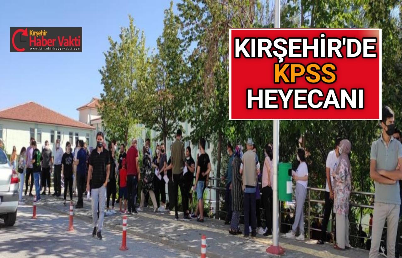 KIRŞEHİR'DE KPSS HEYECANI