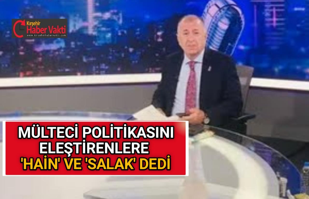 ÜMİT ÖZDAĞ'DAN KENDİSİNİ ELEŞTİRENLERE HAKARET