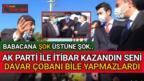 ANKARA'DA BABACAN'A 'NANKÖRSÜN SATTIN' DEDİLER